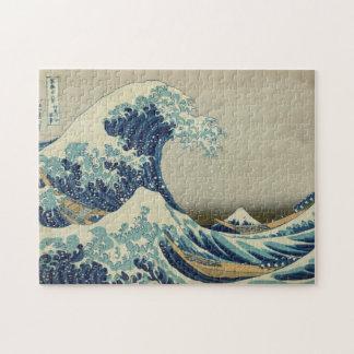 La gran onda de Kanagawa Rompecabeza Con Fotos