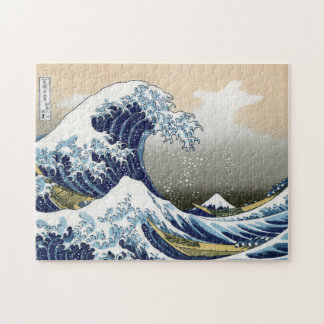 La gran onda de Kanagawa Puzzle