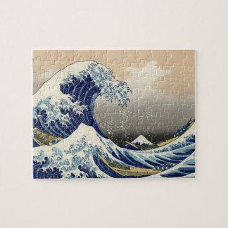 La gran onda de Kanagawa Puzzles