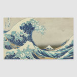 La gran onda de Kanagawa Rectangular Altavoces