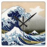 La gran onda de Kanagawa Reloj