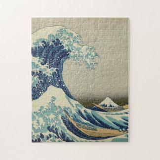 La gran onda de Kanagawa Rompecabeza