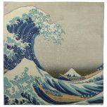 La gran onda de Kanagawa Servilletas Imprimidas