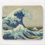La gran onda de Kanagawa Tapete De Raton