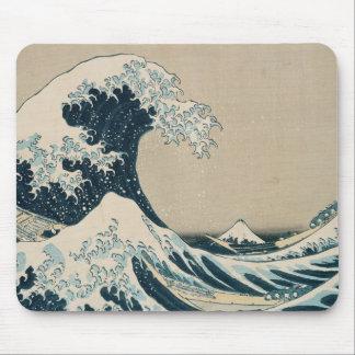 La gran onda de Kanagawa Tapete De Ratones