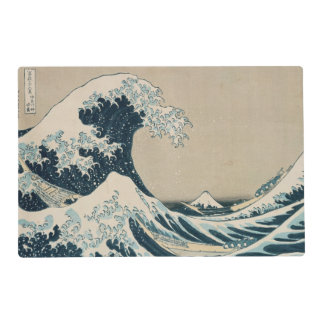 La gran onda de Kanagawa Tapete Individual