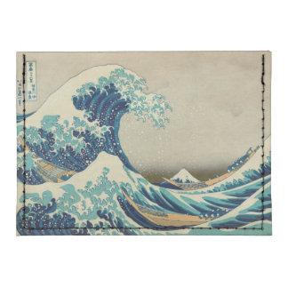 La gran onda de Kanagawa Tarjeteros Tyvek®