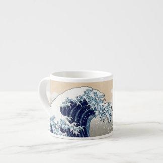 La gran onda de Kanagawa Tazas Espresso