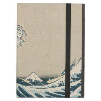 La gran onda de Kanagawa, vistas del monte Fuji