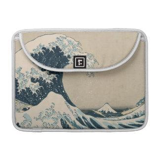 La gran onda de Kanagawa, vistas del monte Fuji Funda Para Macbooks