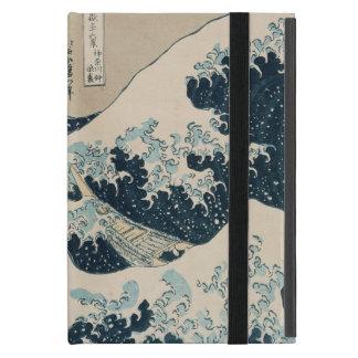 La gran onda de Kanagawa, vistas del monte Fuji iPad Mini Protector