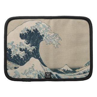 La gran onda de Kanagawa, vistas del monte Fuji Planificador