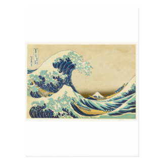 La gran onda de la orilla de Kanagawa Postal