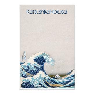 La gran onda de los efectos de escritorio de Kanag Papelería Personalizada