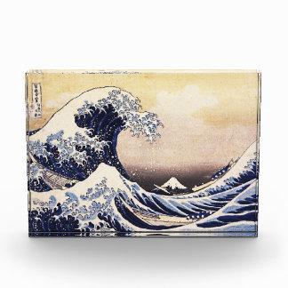 La gran onda del arte del japonés de Kanagawa Hoku