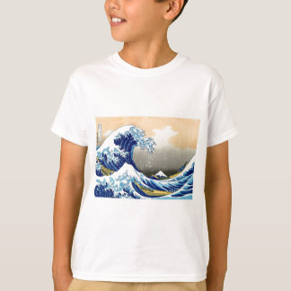 La gran onda - Hokusai Remeras