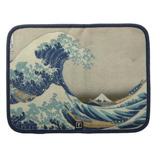 La gran onda por Hokusai, arte del japonés del Planificadores