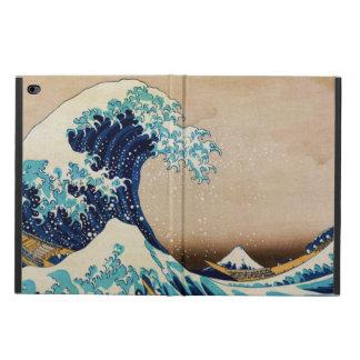 La gran onda por Hokusai