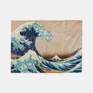 La gran onda por Hokusai Manta De Forro Polar