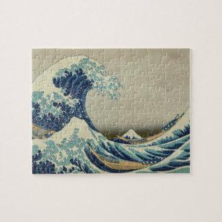 La gran onda puzzle