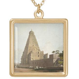 La gran pagoda, Tanjore, placa XXIV de 'Oriente Grimpola