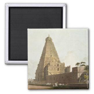 La gran pagoda, Tanjore, placa XXIV de 'Oriente Imán Cuadrado