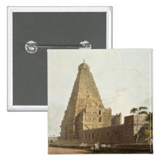 La gran pagoda, Tanjore, placa XXIV de 'Oriente Pins