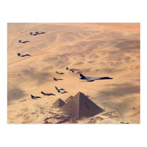 La gran pirámide de Giza Tarjetas Postales