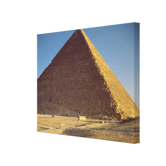 La gran pirámide del viejo reino de Khufu Impresion En Lona