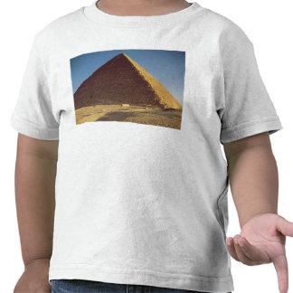 La gran pirámide del viejo reino de Khufu Camisetas