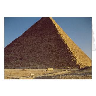 La gran pirámide del viejo reino de Khufu Tarjetas
