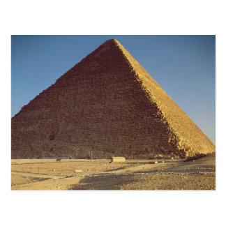 La gran pirámide del viejo reino de Khufu Postales