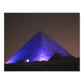 """La gran pirámide invitación 4.25"""" x 5.5"""""""