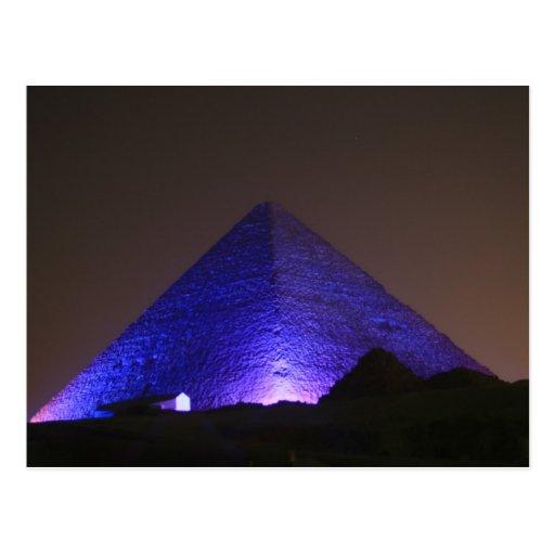 La gran pirámide tarjetas postales