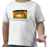 La gran rana de la calabaza camisetas