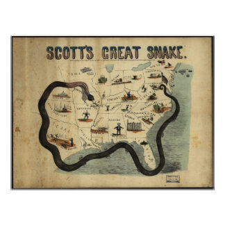 La gran serpiente de Scott Póster