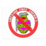 La granada libera América Tarjetas Postales