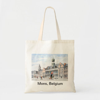 La Grand-Place de Mons Tote Bag