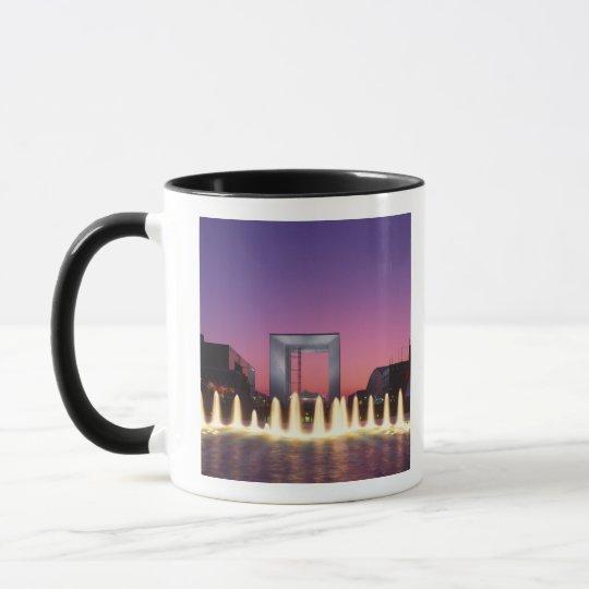 La Grande Arche, La Defense, Paris, France Mug