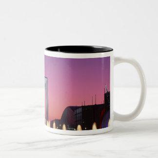 La Grande Arche, La Defense, Paris, France Two-Tone Coffee Mug