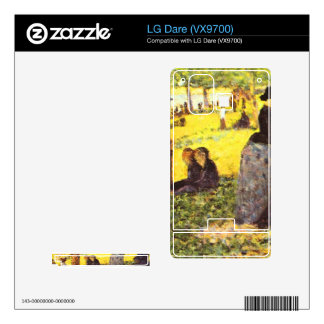 La Grande Jatte by excursion by Georges Seurat Skin For The LG Dare