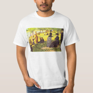 La Grande Jatte by excursion by Georges Seurat T-Shirt