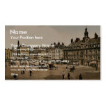 La Grande Place, Lille, France vintage Photochrom Double-Sided Standard Business Cards (Pack Of 100)