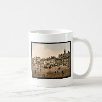 La Grande Place, Lille, France vintage Photochrom Classic White Coffee Mug