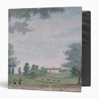 La grandes casa y parque en Chawton, c.1780