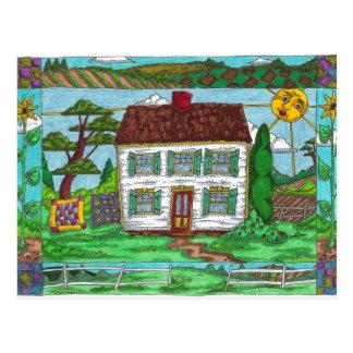 La granja acolcha las postales
