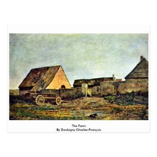 La granja de Daubigny Charles-François Postales