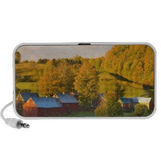La granja de Jenne en Woodstock Vermont Caída 2 Altavoces De Viaje