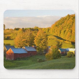 La granja de Jenne en Woodstock, Vermont. Caída. 2 Mouse Pad