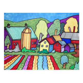 La granja de Quentin Tarjeta Postal